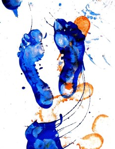 child-feet